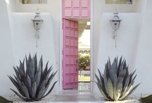 Pink paint / All things pink + paint / by Domestically Speaking