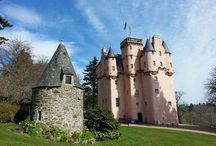 Scotland's pink castle, Craigievar / One of the most recognisable castles in Scotland, Craigievar.