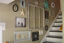 Gallery wall / by Jennifer Sager