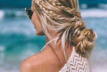 Beach Bikini Hair Styles