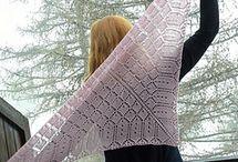 knit shawl, scarves & cowl
