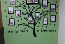 Tree of staff photos