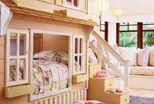 Chambres de bébé ou d'enfant... inspirations... / Parce qu'il y a en chacun de nous un petit enfant qui sommeille...des idées du web pour des chambres de bébé ou d'enfants de rêve