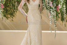 Long Sleeve Elegance / Jasmine Bridal long sleeve wedding gowns.