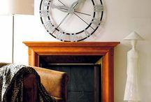 Декор с часами XXL / Счастливые часов не наблюдают? Или все-таки есть часы, которые хочется «наблюдать»?