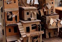 3D bouwen (met karton)
