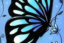 Vlinders, vogels en uiltjes