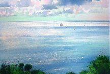 Reflets soleil (tableaux)