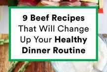 beef dinners