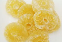 doce de abacaxi cristalizado