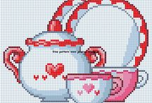CROSS STITCH PATTERNS / by Cassie Reihan