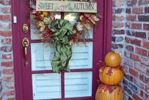 Fall Decor / Front porch-fall