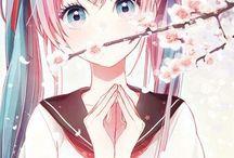 Hatsune Miku / Hatsune Miku the #1 Vocaloid singer.....she's so beautiful!