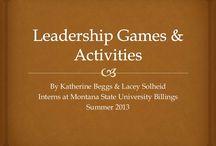 Leadership Teen Activities / by Elonna Cher