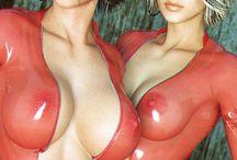 latex girls