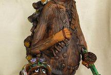 Wood & Ceramic / Здесь собраны мои работы и работы моей жены.