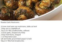 Recipe / Stuffed mushrooms