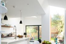Kitchen Extensions / glazing elements to kitchens