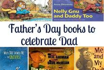 Children's Books that celebrate Dad on Father's Day / A selection of books for children that celebrate how awesome dads can be to share on Father's Day