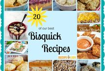 Bisquick Recipes / by Sue Wicihowski