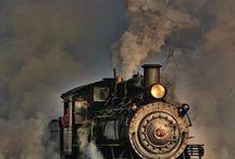 železnice, vlaky