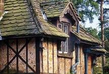 ۩ Dream Home ۩ / Planning our dream home. Basically I want it to look like a craftsman style fairy tale cottage with a few creative twists...  / by Gina Miceli