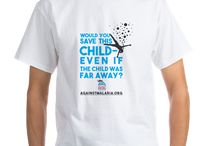 Would You Save This Child? / Fight Malaria and support a child today, purchase these products