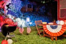 July 4th Celebration / July 4th parties, decorating, and fun!