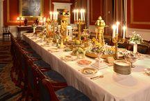 Historical dinner tables⚜