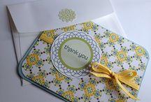 Stampin up greeting cards