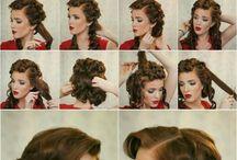 retro hairdo