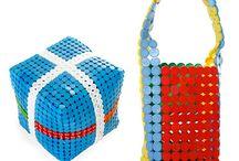 Reciclagem de Tampinhas de Garrafas / Veja mais ideias no Facebook  e no Blog do Fika a Dika