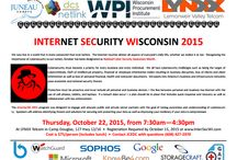 Internet Security - InterSecWI 2015 / Internet and Cyber Security Conference called InterSecWI 2105 www.intersec2015wi.com