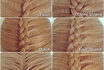 |hair updos| / Hair techniques and braids