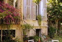 patios y terrazas