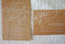 Wedding Invitations (Curated by Chandelier)