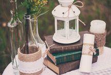 Рустикальная свадьба / Об элементах декора, связанных с рустикальным стилем