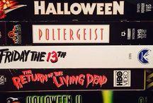 Horror VHS Artwork