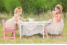 Mienkie en Lenkie high tea photoshoot