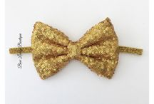 Sparkly Hair Bows / by Bow Lovely Boutique