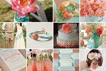 Flores, arranjos e decorações para o casamento