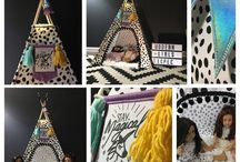"""Deluxe 18"""" doll teepee set"""