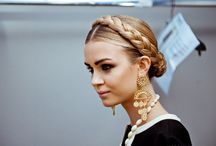 hair / hair styles for dirndl outfits / by Dirndl Magazine