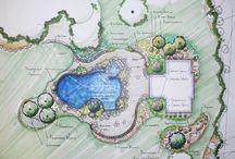 landscpae drawings / tech drawing