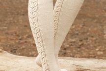 Lace / Her gemmes mønstre til strik