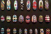 wzorek różne  aztecki