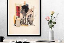 cadre collage