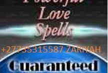 Love spells that work+27735315587 call mama zariyah / Love spells that work fast to cause attachment between two lovers. Improve communication, banish jealousy & facilitate couple problem solving with love spells that work to stop cheating in your lover 3rd part interference love spells