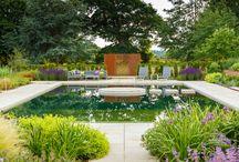 Natural Pools - formal design