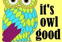 OWLS/BÚHOS//:ARTE / ILUSTRACIÓNES,ESCULTURAS,PINTURAS, CARTOON,OBJETOS RELACIONADOS CON OWLS O BÚHOS (español)